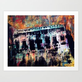 What They Tell Us Art Print