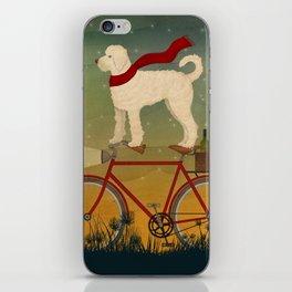 Doodle Bike iPhone Skin