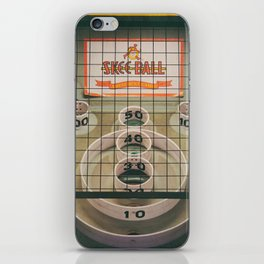 Skee Ball Game iPhone Skin