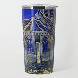 "Vincent Van Gogh ""The Church In Auvers Sur Oise"" Travel Mug"