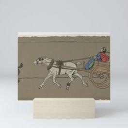 Arthur Sanderson & Sons - Hunting Frieze (1905) Mini Art Print
