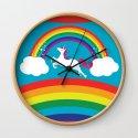 Unicorn Rainbow in the Sky by alicewieckowska
