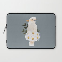 Citron Crested Cockatoo Laptop Sleeve