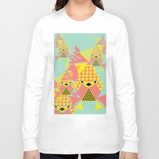 School of Modular Gold Fish. Long Sleeve T-shirt