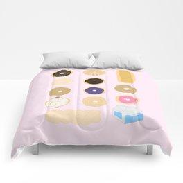 Liz Lemon's Donut Order Comforters