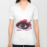 chaos V-neck T-shirts featuring chaos by echoes