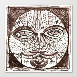 patchwork 011 Canvas Print