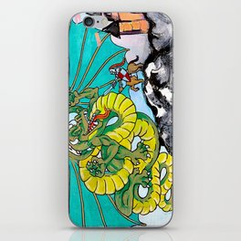 facing your fear iPhone Skin