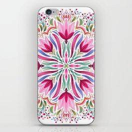 Floral Mandala iPhone Skin