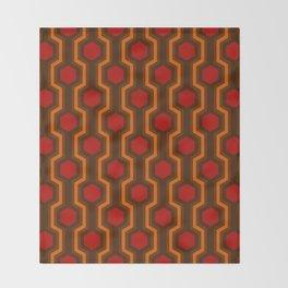 Retro-Delight - Humble Hexagons - Haunted Throw Blanket