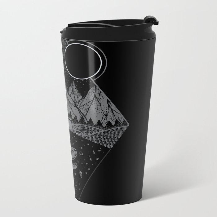 Nightfall II Metal Travel Mug