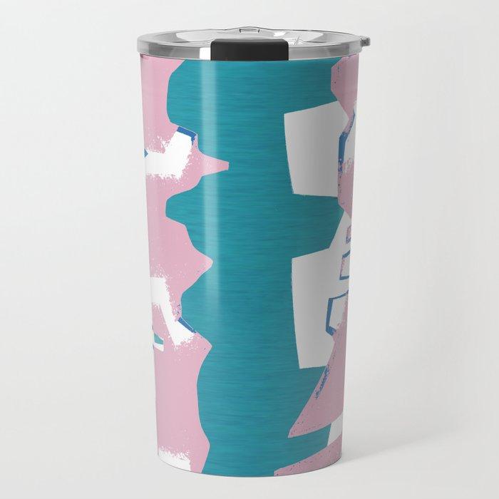 Abstract building Travel Mug