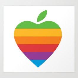 Apple Love Art Print