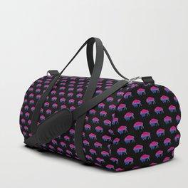 Bi Pride Bison Duffle Bag