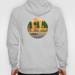 Sunset in the swamp Hoody