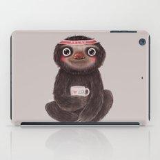 Sloth I♥yoga iPad Case