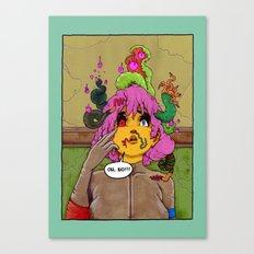 Neighbourhood Of Infinity, splash page. Canvas Print