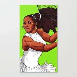 Queen Serena Canvas Print