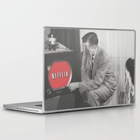 netflix Laptop & iPad Skins featuring 10 Minutes into Netflix n Chill by Calepotts