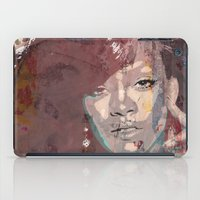 rihanna iPad Cases featuring Rihanna by Bit of Art