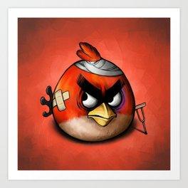 Angry Birds Art Print