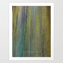 Rusty Stuff (~ Colours of Transience ~ ) III Art Print