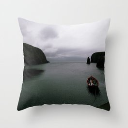Over the Edge of the World Throw Pillow