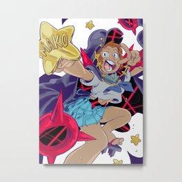 Mako Punch Metal Print