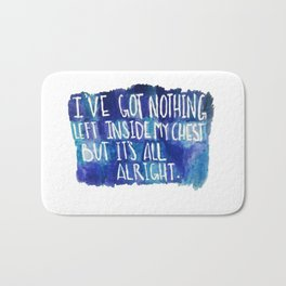 All Alright Bath Mat