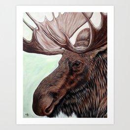 Mist Walker Art Print