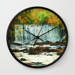 Autumns Chill Wall Clock