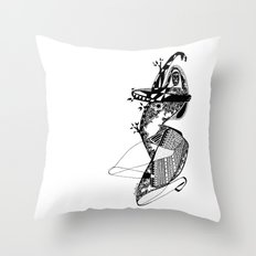 Dance with me - Emilie Record Throw Pillow
