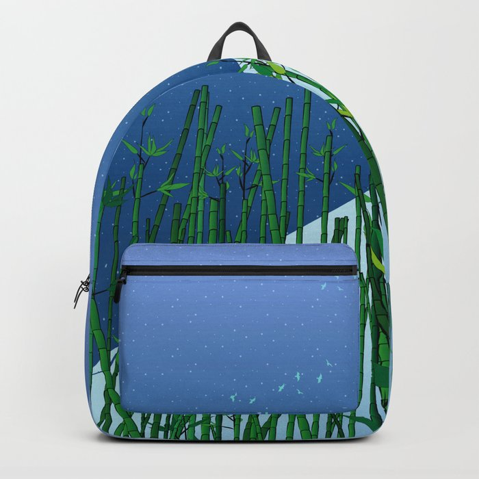 A moonless night Backpack
