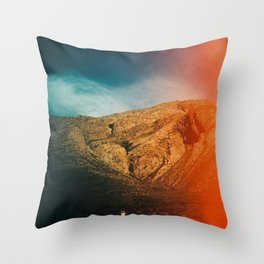 love is in the mountain Throw Pillow