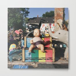 Childhood in Detroit Metal Print