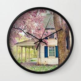 On My Way Wall Clock