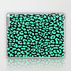 Mint Black Leopard Laptop & iPad Skin