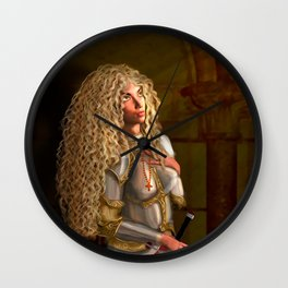 Joan of Arc: Living the Controversial Truth Wall Clock