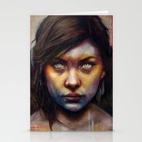 rare Stationery Cards featuring Una by Michael Shapcott