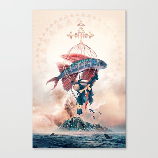 FlyFish Canvas Print
