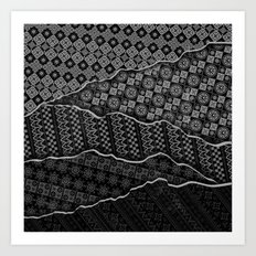 Pattern Madness Art Print