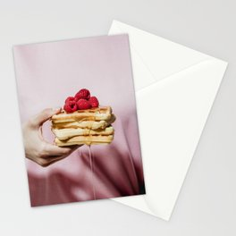 Waffles Stationery Cards