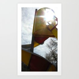 Chutes and Slides Art Print