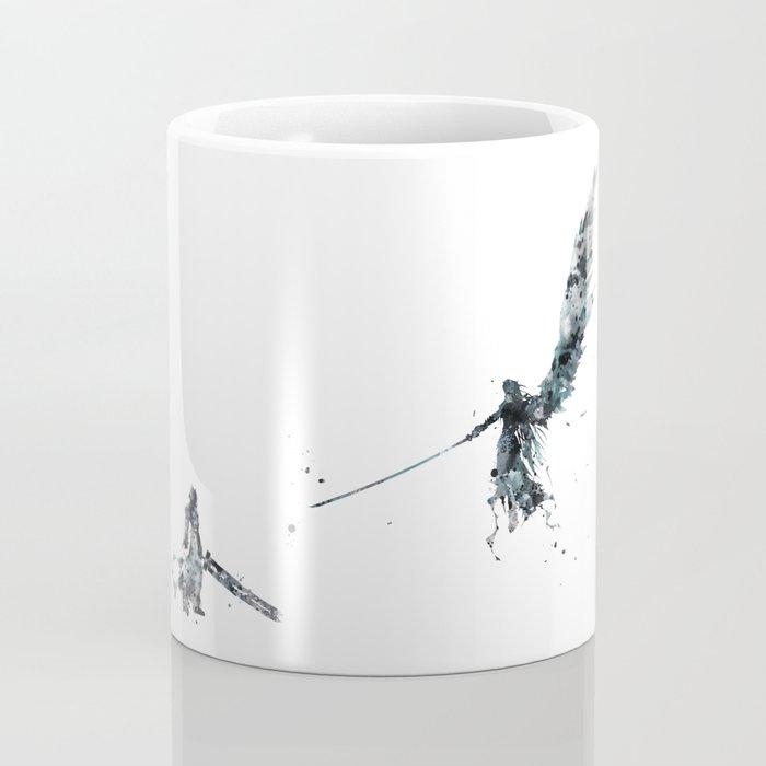 Final Fantasy Watercolor Coffee Mug