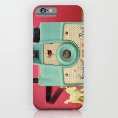 Imperial Horse (Blue Camera, Toy Horse) Slim Case iPhone 6s