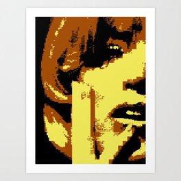 I Hate You (C64 remix) (2011) Art Print