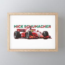 4 MICK SCHUMACHER Framed Mini Art Print