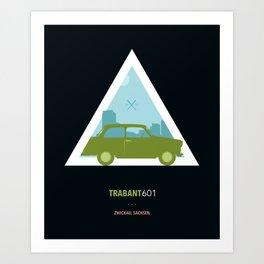 Icotrip - Trabant601 Art Print