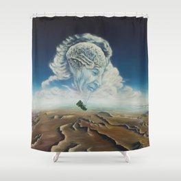 Richard Feynman Shower Curtain