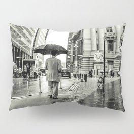 Wet Pavement NYC Pillow Sham